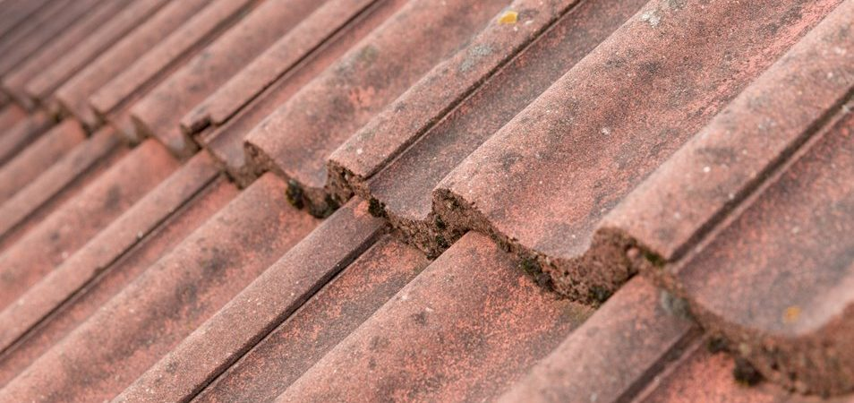 house building roof tiles