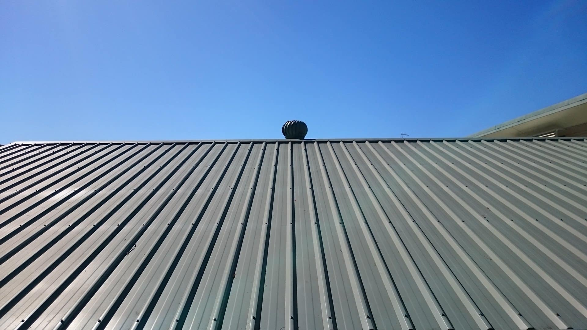 Roof with vent.